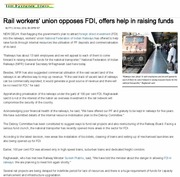 Thumb_rail_workers__union_opposes_fdi__offers_help_in_raising_funds_-_the_economic_times