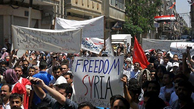 War in Syria - CrowdVoice.org